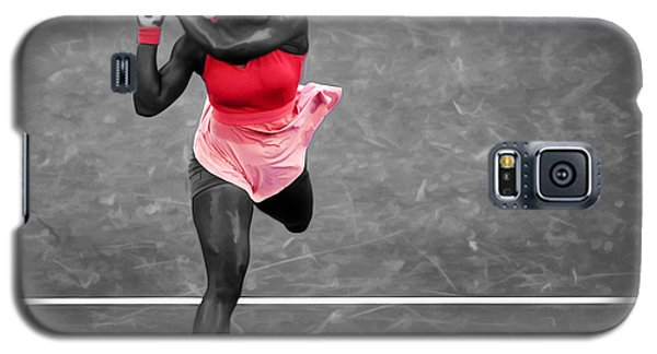 Serena Williams Strong Return Galaxy S5 Case by Brian Reaves