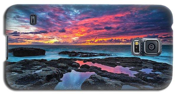 Serene Sunset Galaxy S5 Case by Robert Bynum