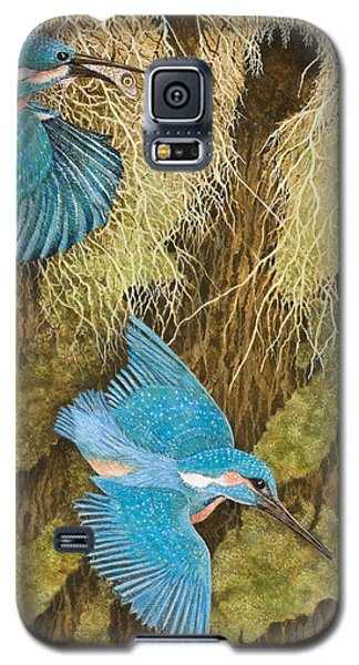 Sharing The Caring Galaxy S5 Case by Pat Scott