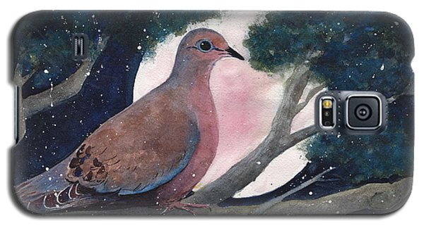 Bird Galaxy S5 Cases - She Waits Galaxy S5 Case by Susy Soulies