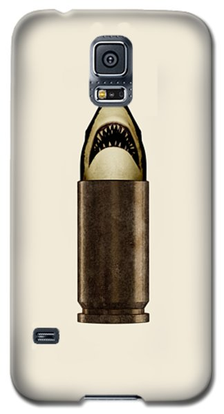 Shell Shark Galaxy S5 Case by Nicholas Ely