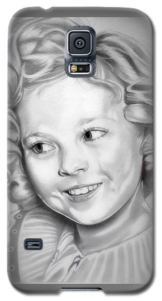 Shirley Temple Galaxy S5 Case by Fred Larucci