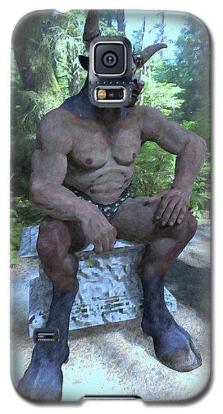 Sitting Bull Galaxy S5 Case by Joaquin Abella