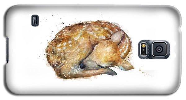 Sleeping Fawn Galaxy S5 Case by Amy Hamilton