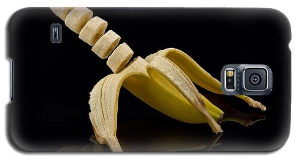Sliced Banana Galaxy S5 Case by Gert Lavsen