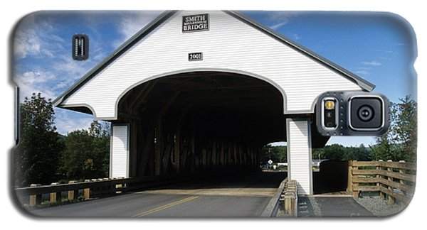 Smith Covered Bridge - Plymouth New Hampshire Usa Galaxy S5 Case by Erin Paul Donovan