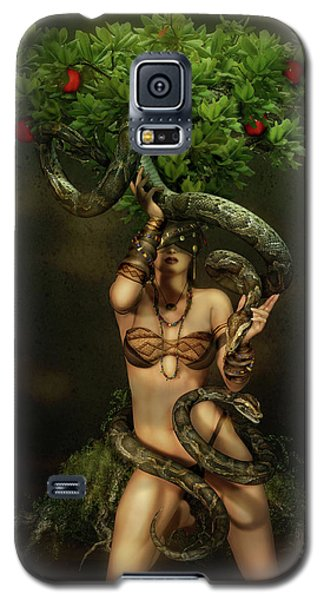 Snake Charmer Galaxy S5 Case by Shanina Conway