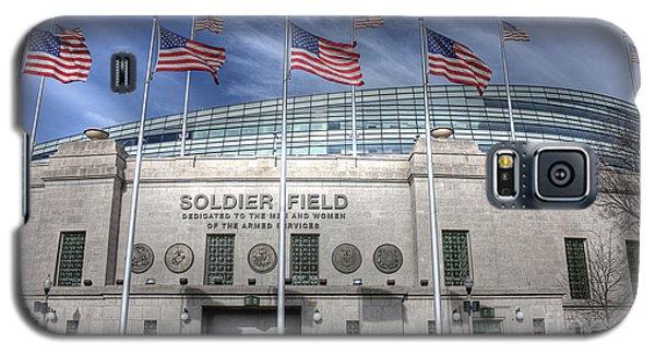 Soldier Field Galaxy S5 Case by David Bearden
