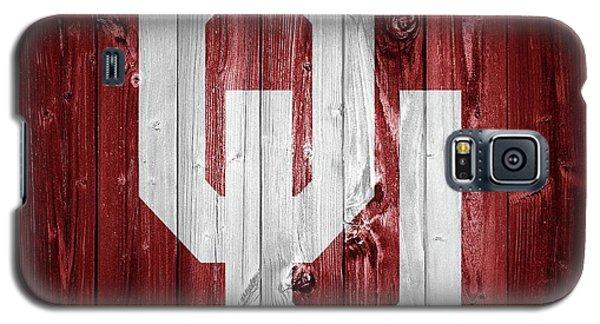 Sooners Barn Door Galaxy S5 Case by Dan Sproul