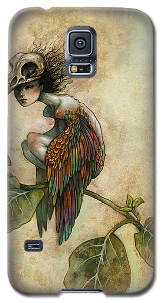 Soul Of A Bird Galaxy S5 Case by Caroline Jamhour