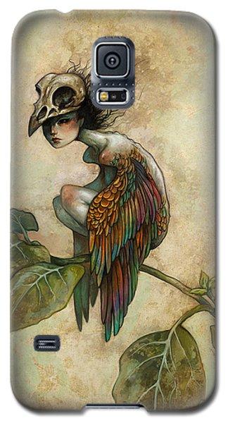 Soul Of A Bird Galaxy S5 Case by Caroline Jamhour
