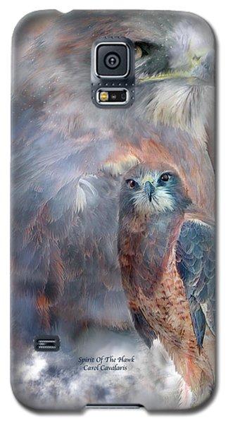 Spirit Of The Hawk Galaxy S5 Case by Carol Cavalaris