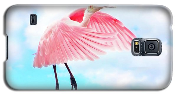 Spoonbill Launch Galaxy S5 Case by Mark Andrew Thomas