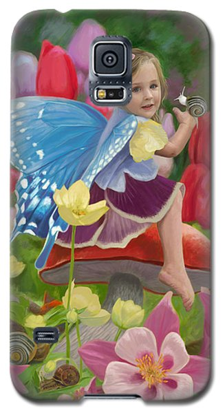 Spring Fairy Galaxy S5 Case by Lucie Bilodeau
