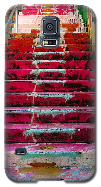Stairs Galaxy S5 Case by Angela Wright