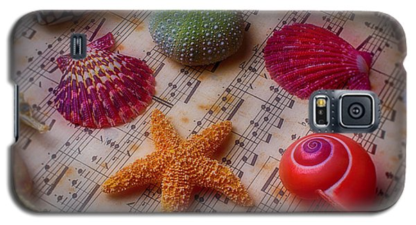 Starfish On Sheet Music Galaxy S5 Case by Garry Gay