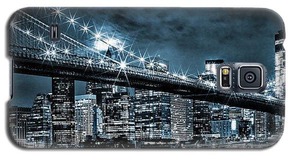 Steely Skyline Galaxy S5 Case by Az Jackson