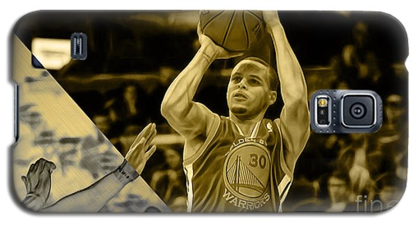 Steph Curry Collection Galaxy S5 Case by Marvin Blaine