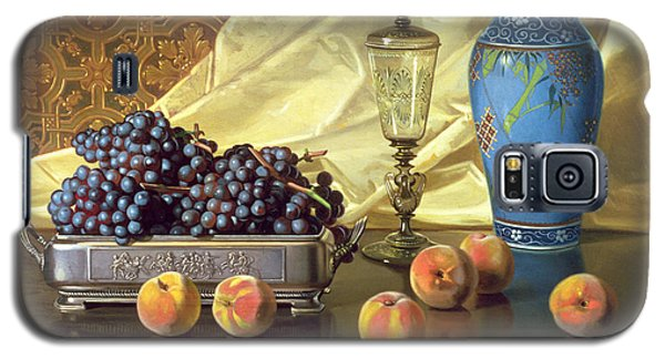 Still Life With Peaches Galaxy S5 Case by Edward Chalmers Leavitt