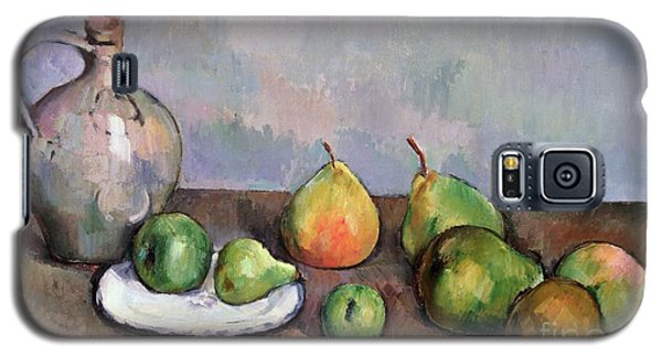 Still Life With Pitcher And Fruit Galaxy S5 Case by Paul Cezanne