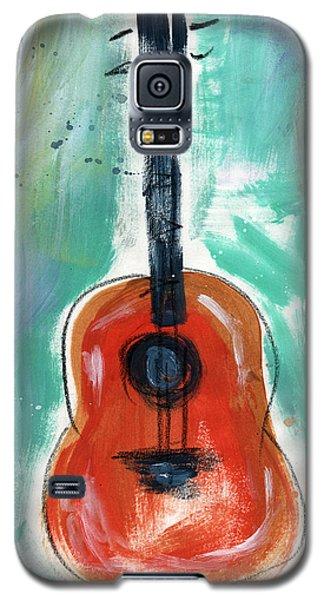 Storyteller's Guitar Galaxy S5 Case by Linda Woods