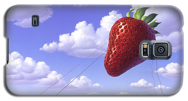 Strawberry Field Galaxy S5 Case by Jerry LoFaro