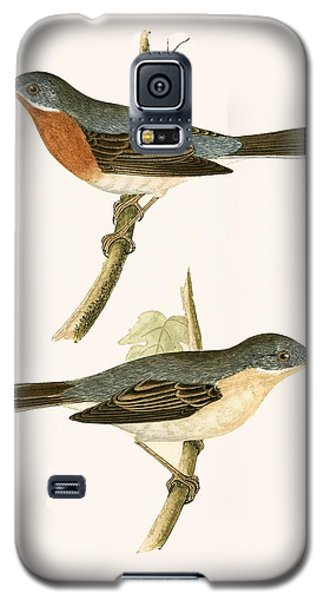 Sub Alpine Warbler Galaxy S5 Case by English School