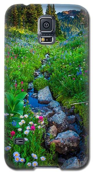 Summer Creek Galaxy S5 Case by Inge Johnsson
