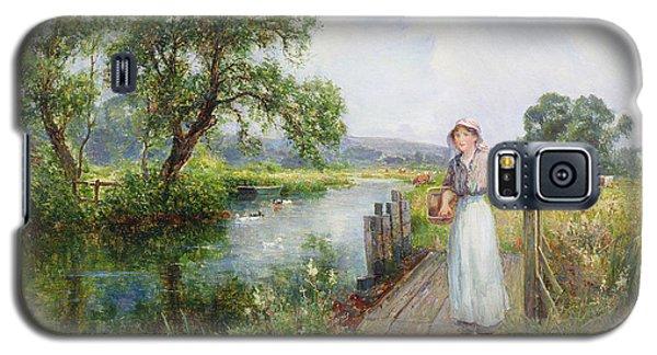 Summer Galaxy S5 Case by Ernest Walbourn