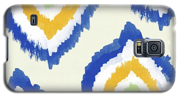 Summer Ikat- Art By Linda Woods Galaxy S5 Case by Linda Woods