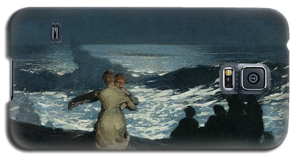 Summer Night Galaxy S5 Case by Winslow Homer