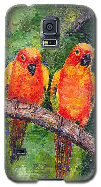Sun Parakeets Galaxy S5 Case by Arline Wagner