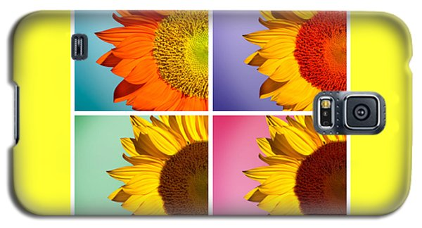 Sunflowers Collage Galaxy S5 Case by Mark Ashkenazi