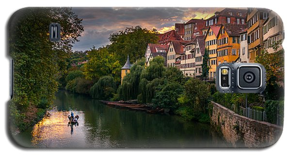 Landmarks Galaxy S5 Cases - Sunset in Tubingen Galaxy S5 Case by Dmytro Korol