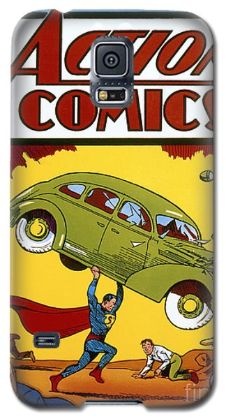 Superman Comic Book, 1938 Galaxy S5 Case by Granger