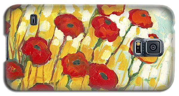 Impressionism Galaxy S5 Cases - Surrounded in Gold Galaxy S5 Case by Jennifer Lommers