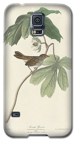 Swamp Sparrow Galaxy S5 Case by John James Audubon
