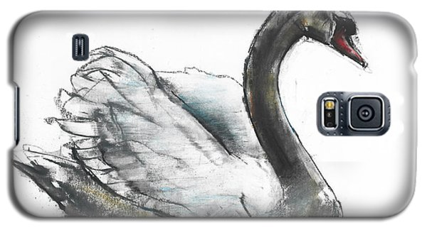Swan Galaxy S5 Case by Mark Adlington
