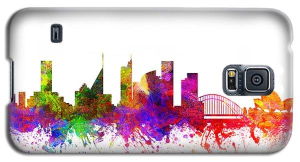 Sydney Australia Cityscape 02 Galaxy S5 Case by Aged Pixel