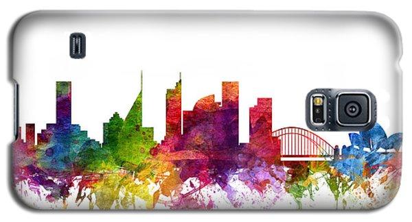 Sydney Australia Cityscape 06 Galaxy S5 Case by Aged Pixel