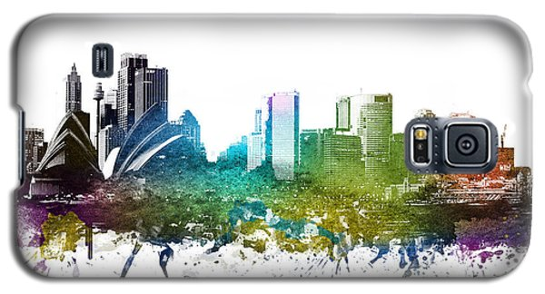 Sydney Cityscape 01 Galaxy S5 Case by Aged Pixel