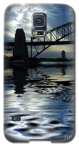 Sydney Harbour Bridge Reflection Galaxy S5 Case by Avalon Fine Art Photography