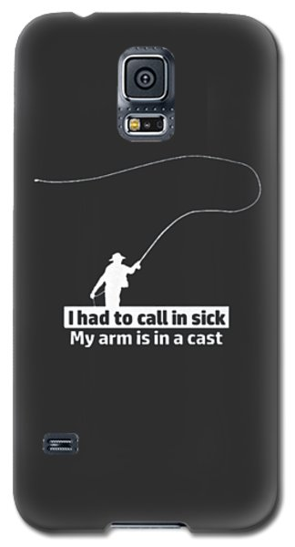 T Had To Call Stick Galaxy S5 Case by Jackie Robinson