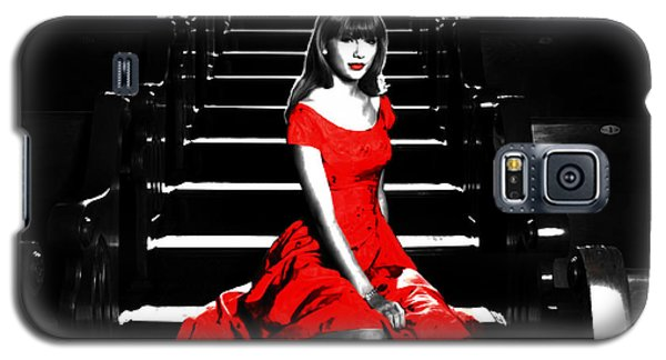 Taylor Swift 8c Galaxy S5 Case by Brian Reaves