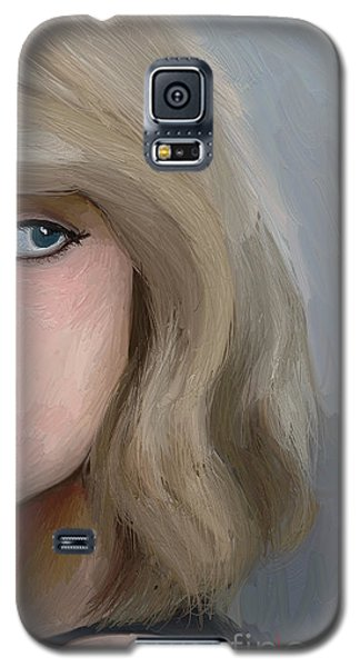 Taylor Swift  Galaxy S5 Case by Barbara Stanley