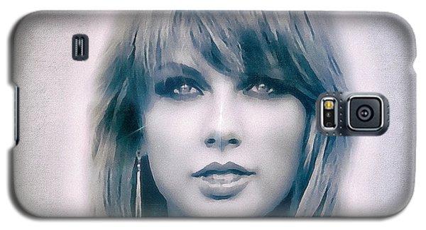 Taylor Swift - Beautiful Galaxy S5 Case by Robert Radmore