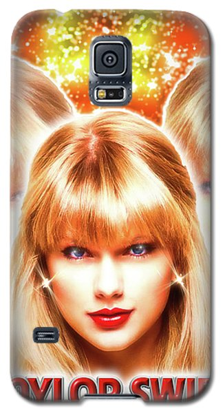 Taylor Swift - Beautiful Vision Galaxy S5 Case by Robert Radmore