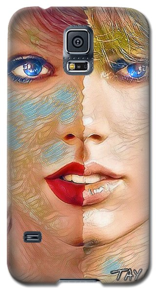 Taylor Swift - Blended Perfection Galaxy S5 Case by Robert Radmore