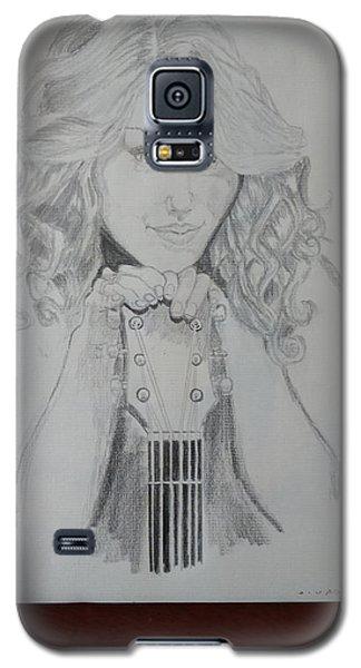 Taylor Swift Galaxy S5 Case by Jiyad Mohammed nasser
