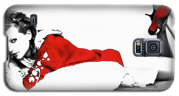 Taylor Swift Red 01a Galaxy S5 Case by Brian Reaves
